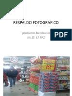 RESPALDO FOTOGRAFICO