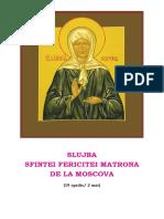 Slujba Sf Matrona