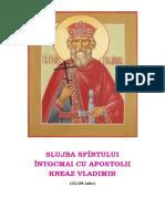 Slujba Sf Vladimir