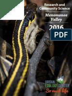 MV Report 2016 Community Science