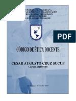 Ser Maestro Código Ético Del Docente_una Propuesta a Discusión.output