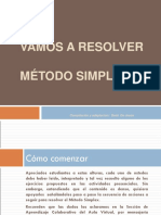 Ejemplo Practico de Metodo Simplex