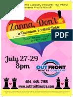 Zanna Poster