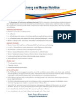 Food Science and Human Nutrition_Fact_sheets