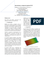 Simulación Eléctrica y Térmica de Paneles PV