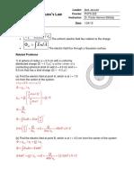 Fisica Ley de -Gauss Tarea