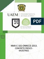 muestreo-concreto-nmx-c-161-onncce-2013