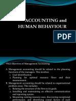 Budget and Human Behaviour
