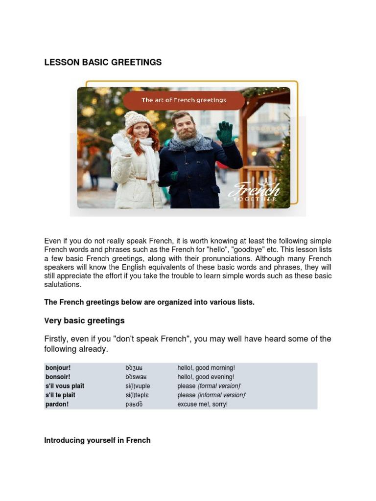 Lesson Basic Greetings Christmas And Holiday Season Linguistic