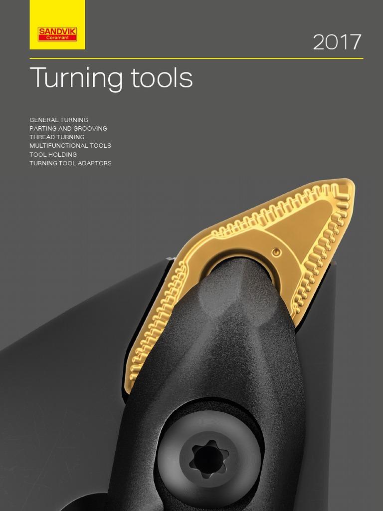 Ti Sandvik Coromant C,N Carbide Inveio Coating Technology N123L2-0800-0005-GM 4325 +Al2O3+TiN Neutral Cut 4325 Grade CoroCut 1-2 Insert for Grooving