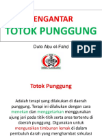 Pengantar Totok Punggung