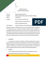 Silabo-Chartismo, Análisis Técnico e iniciación al Trading-V Class