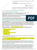Clinical Presentation, Evaluation, And Diagnosis of the Nonpregnant Adult With Suspected Acute Pulmonary Embolism - UpToDate