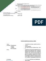 Modelo de Liquidacion