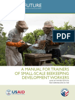 T0029 a Manual for Trainers of Small Scale Beekeeping Development Workers