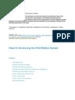Child Welfare System
