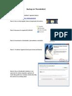 Backup de Thunderbird y Outlook
