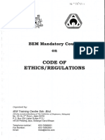 Code of Ethics Regulations