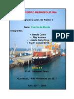 Puerto de Manta Trabajo