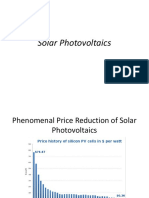Solar Photovoltaics Lectures- Final