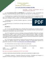 Acordo de Extradição Entre Os Estados Partes Do Mercosul