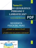 Espacio Geográfico Peruano- Luis Ríos Garabito