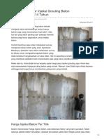 Jasa & Kontraktor Injeksi Grouting Beton Berpengalaman 14 Tahun—☎ 0821 1372 4737