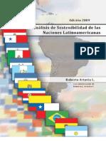 Analisis Sostenibilidad Latinoamerica 2009 - Roberto Artavia