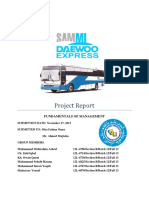 Daewoo Express Project Report (1)