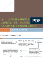 INTRODUCTION TO FE MODELING OF COMPOSITE BEAM TO CFST COLUMN CONNECTION--PHASE--1