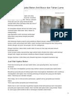 Waterproofing Injeksi Beton Anti Bocor dan Tahan Lama—☎ 0821 1372 4737