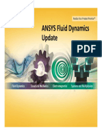 ANSYS Fluid Dynamics Update - ANSYS