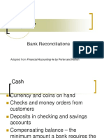 Chapter 7 Bank Reconciliation