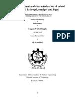 Development and Characterization of Mixed Emulgel
