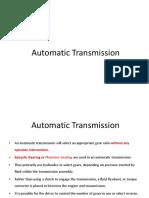 3b. Automatic Gear Box