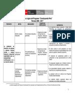Matriz Marco Logico Construyendo Perú.pdf