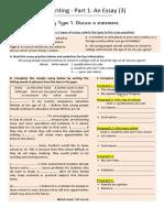 Complete FCE - U2L2 - Essay Type 1