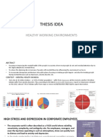 THESIS SYNOPSIS - HEALTHY WORKING ENVIRONMENT.pptx