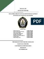 Makalah Organisir Rancang Dan Report Site Investigation