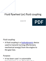 5.Fluid Flywheel (or) Fluid Coupling