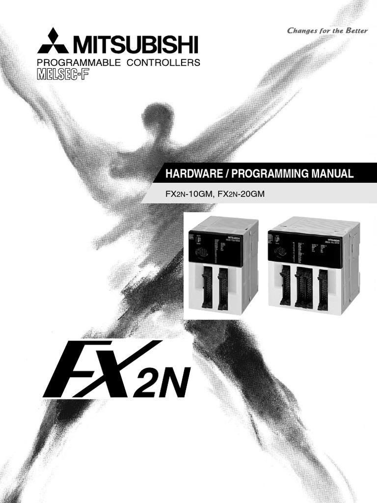 FX2N10GM Manual Book | Documentation | Safety