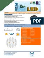 ELED-BRI-9550 Bridgelux Modular Passive Star LED Heat Sink Φ95mm
