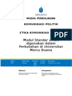 Modul Komunikasi Politik [TM15]
