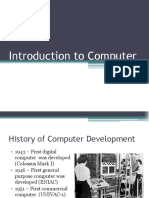 1. Introduction to Computer
