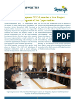 Syunik NGO Newsletter Issue 29