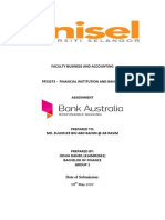 FIB - Bank Australia Assignmnt
