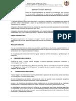 Especificaciones Tecnicas Campo Ferial