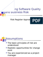 Managing Software Quality and Business Risk