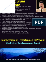 (Simpo 2 Prof Idrus) - Management of Hypertension to Prevent the Risk of CVE, Purwokerto
