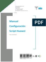 Manual Configuración Script Acceso HUAWEI Navigator.v.1.0